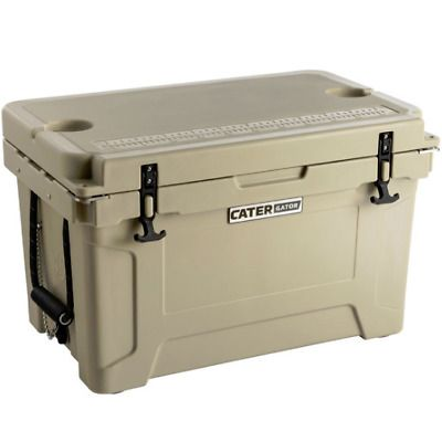 Advertisement Ebay Heavy Duty Tan Brown 45 Qt Roto Molded Cooler 10 Day Ice Triple Insulated Chest Ice Chest Cooler Ebay