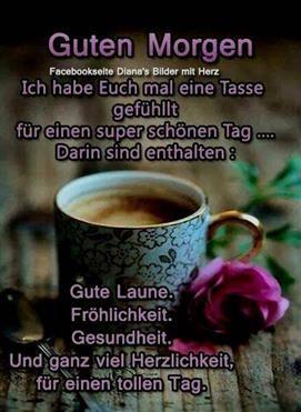 Guten Morgen Sprüche Für Mein Schatz Guten Morgen