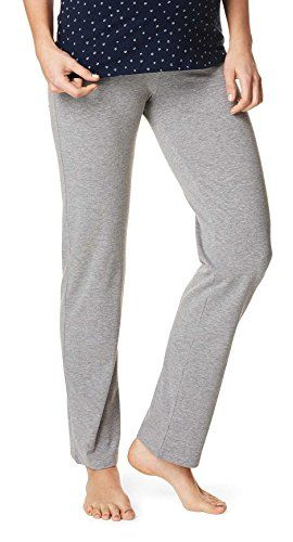 Einfarbig Noppies Damen Umstands Schlafanzughose Pants jersey Ninette
