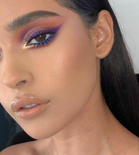 Image about fashion in Eyes by Makeup Eye Looks, Eye Makeup Art, Cute Makeup, Glam Makeup, Gorgeous Makeup, Pretty Makeup, Skin Makeup, Beauty Makeup, Soft Eye Makeup