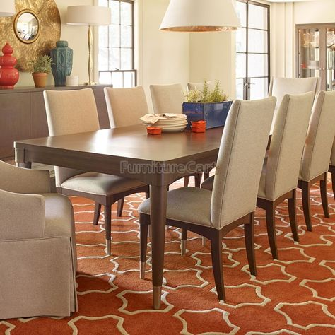 Rachael Ray Soho by Legacy Classic 72 in. Rectangular Leg Dining Table - There's enough room around the Rachael Ray Soho by Legacy Classic 72 in. Rectangular Leg Dining Table to welcome the whole family over for dinner.