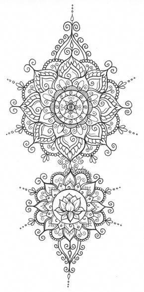 Pin By Cindy Spotts On Coloring Pages In 2020 Mandala Tattoo Henna Mandala Mandala Coloring Pages