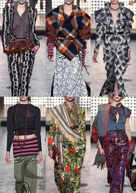 Paris Fashion Week – Autumn/Winter – Print Highlights – Part 2 catwalks - Vivienne Westwood