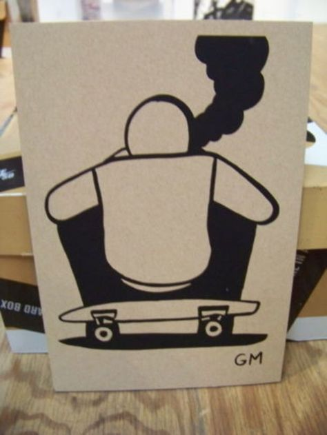 size 40 bd4c1 8ac6c Nike SB x Geoff McFetridge x MOCA - Paper Dunk High Auctions - Freshness Mag