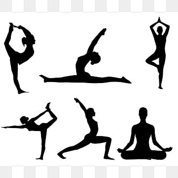 Practicing Yoga Elements Yoga Clipart Yoga Fitness Png And Vector With Transparent Background For Free Download Psd Free Photoshop Yoga Illustration Yoga Background