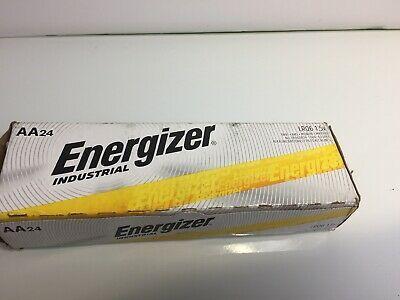 Click Now 48 Energizer Industrial Aa Alkaline Batteries En91 Lr6 Alkaline Battery Energizer Energizer Battery