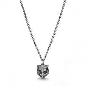 f505887d Gucci Gatto Silver Men's Necklace | Gucci Jewelry in 2019 | Gucci ...