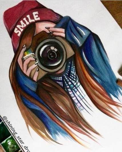 48 Trendy Drawing Girl Happy Beautiful Drawing Bff Drawings