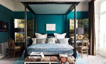 40 Ideas Bedroom Dark Brown Furniture Teal Teal Bedroom Walls Teal Bedroom Teal Bedroom Decor