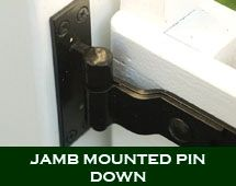 Heavy Duty Cranked Band Strap Hinges (Black Finish)   360 Yardware: Your  Source For Contemporary Gate Hardware And More!