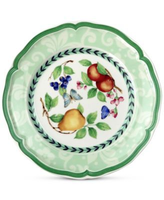 Villeroy Boch French Garden Green Line Dinnerware Collection Reviews Dinnerware Dining Macy S Dinnerware Plates Salad Plates