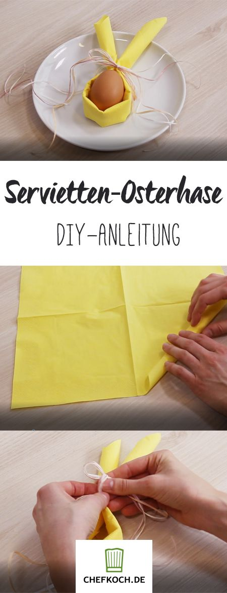Osterservietten Servietten Serviette Ostern Hase Hasenkind 5 Muster