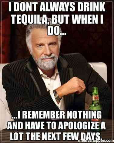 30 Hilarious Tequila Memes To Help You Celebrate National Tequila Day The Right Way Golf Quotes Funny Single Humor Sports Quotes