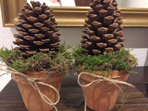 Dekorationen mit Zapfen - Advent - #Advent #decorations #with #corns   - Finde ein Hobby - #Advent #corns #Decorations #Dekorationen #ein #Finde #Hobby #mit #zapfen