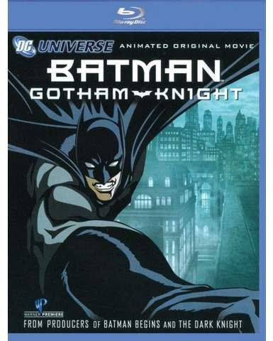 Batman Gotham Knight Blu Ray Home Video Genre Batman Gotham