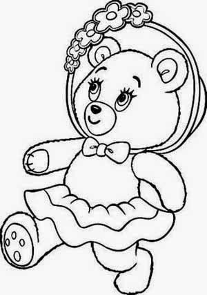 Desenhos De Ursinhos Fofos E Cutes Para Colorir Pintar E Imprimir Ursos E Ursas Urso Para Pintar Desenho De Urso Desenhos Para Colorir Desenhos