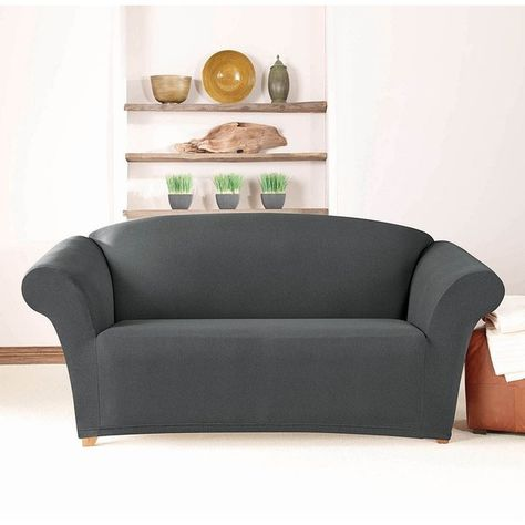 Fine Sure Fit Stretch Twill Loveseat Slipcover 93 Liked On Beatyapartments Chair Design Images Beatyapartmentscom