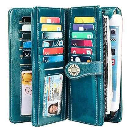 Giulia Pieralli Damen Geldbörse Portemonnaie Abendtasche Clutch Tasche 0421