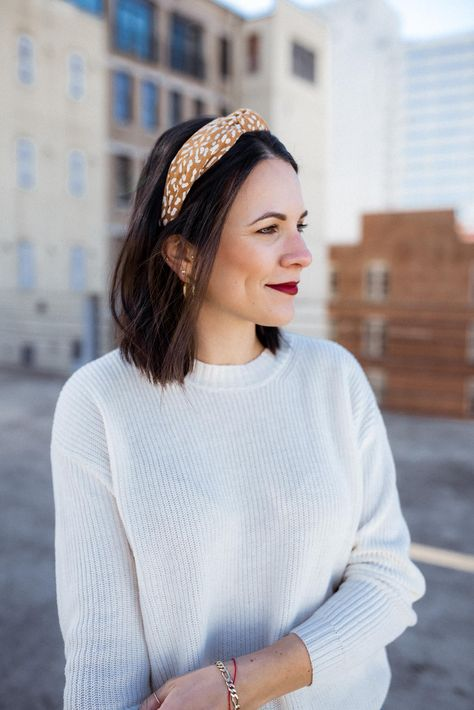 Ways to style headbands, casual headbands