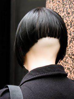 Très Joli Effet 16801 High Shaved Close Clippered Napes Pinterest Bobs Undercut And Y Bob Haircut