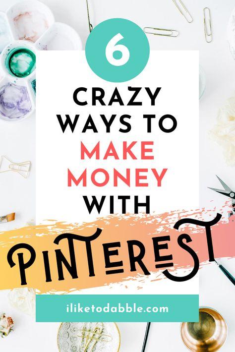 How I Make Money With Pinterest
