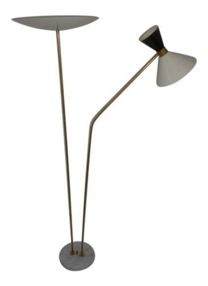 1960 Stilnovo Style Italian Floor Lamp In 2020 Italian Floor Lamp Floor Lamp Lamp