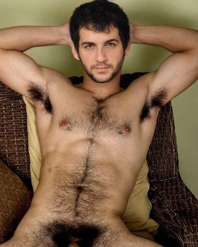 Nude hairy sexy men