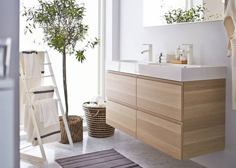 Godmorgon/Braviken - 4 drawer cabinet and sink | Ikea