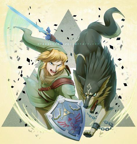 Legend Of Zelda Twilight Princess Fanart April Seymour