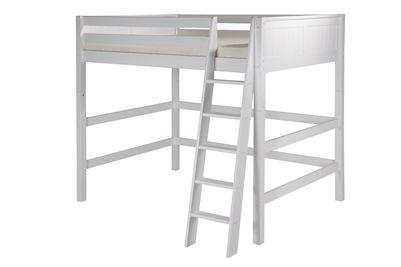 camaflexi full loft bed on Camaflexi Full High Loft Bed Panel Headboard White Loft Bed White Headboard Panel Headboard