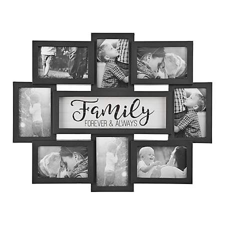 Family 8 Opening Dimensional Collage Frame Family Picture Frames