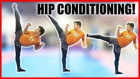 Leg Conditioning For High Kicks Taekwondo Martial Arts Tutorial