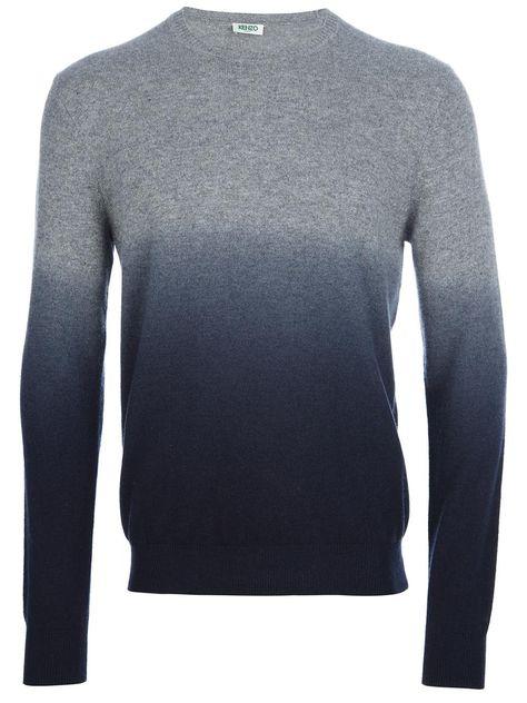 Kenzo | dip-dye sweater #kenzo #sweater