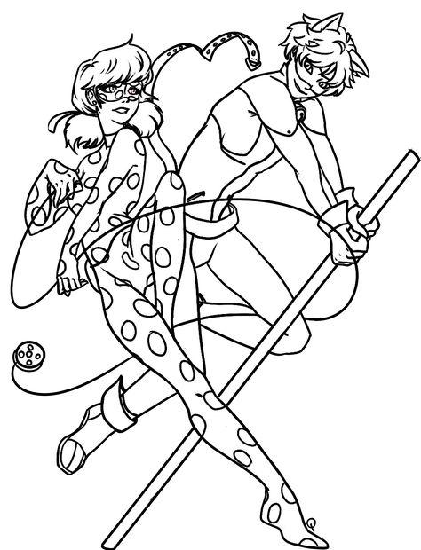 Ladybug And Cat Noir Desenho Frozen Desenhos Para Colorir