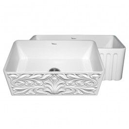 Whitehaus Whflgo3018 Gothichaus Series Fireclay Sink With Images