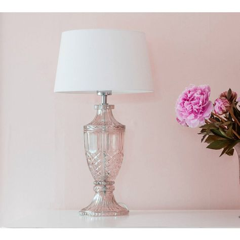 Intrixia Table Lamp Pearlescent Gold | Glass Table Lamp ...