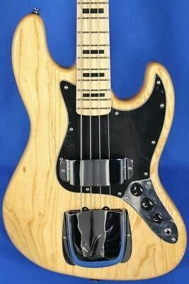 Vintage Icon Series Vj74 Natural Electric Bass Guitar Wilkinson In 2020 Guitar Bass Guitar Electric Bass