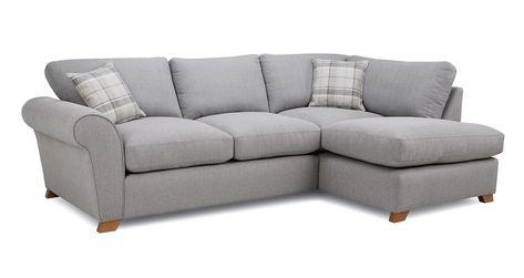 Left Hand Facing Arm Corner Sofa