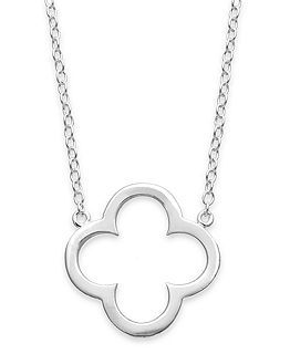 clover pendant - love
