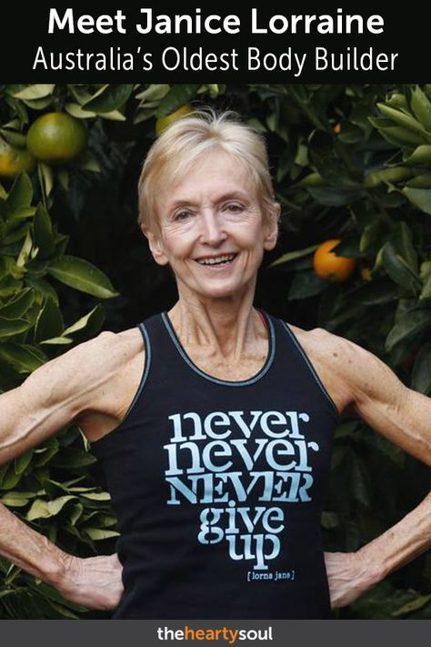 Oldest Ozzie Bodybuilding Grandma Wants to Empower Women