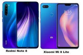 Xiaomi Redmi Note 8 Vs Xiaomi Mi 8 Lite Specs Comparison Xiaomi Mobile Info Digital Zoom