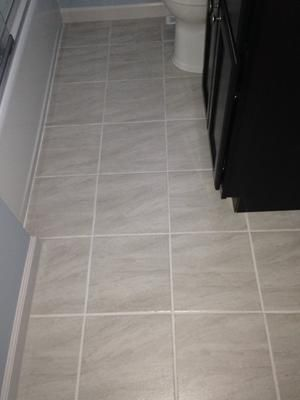 Aversa Frost Bsmt Bath Wall We Used Mapei Ultracolor Plus Fa In