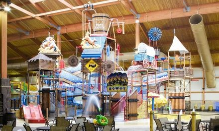 All-Day Water-Park Passes for Two, Four, or Six at Fort Rapids Indoor Waterpark (Up to Off)