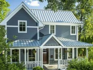 Metal Roof Cost Calculator Estimate Metal Roofing Prices Roofcalc Org In 2020 Tin Roof House Metal Roof Colors House Roof