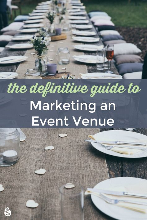 This awesome free eBook walks you through exactly what you need to do to market an event venue and c Event Rental Business, Event Planning Business, Event Marketing, Marketing Plan, Event Planning Guide, Planning Board, Party Planning, Becoming An Event Planner, Events Place
