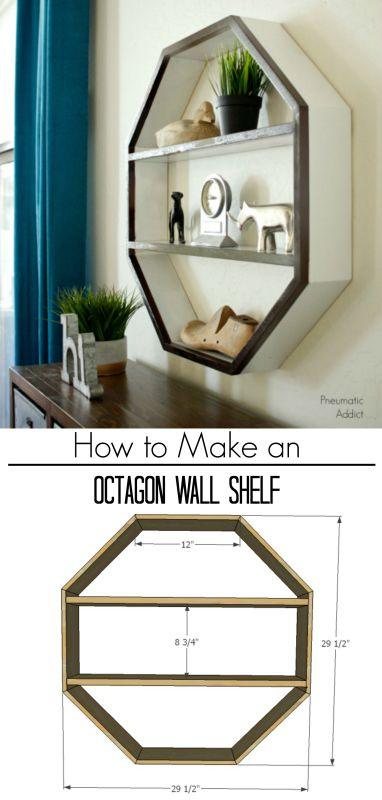 info for 957aa dfb4b How to Make an Octagon Wall Shelf | Amazing DIY Projects ...