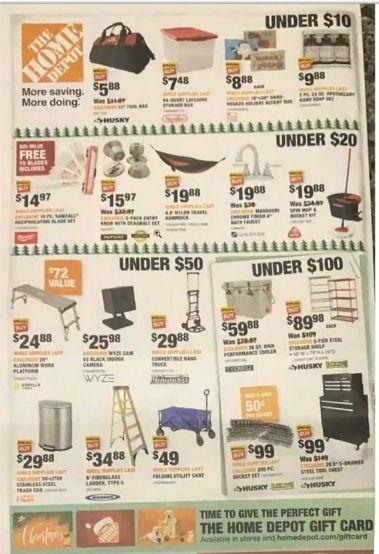 Home Depot Black Friday 2020 Deals Offers Discount Ad Released Black Friday Visa Gift Card Discount Ad