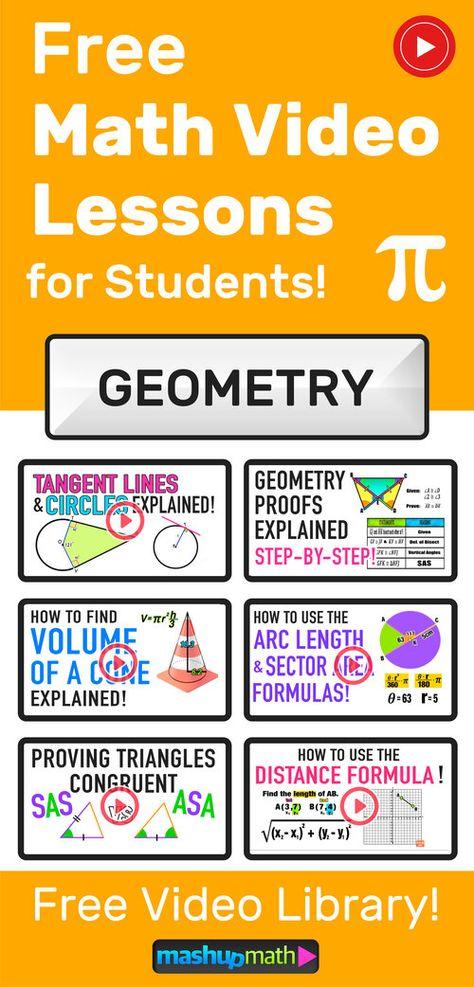Geometry Videos (2020) — Mashup Math