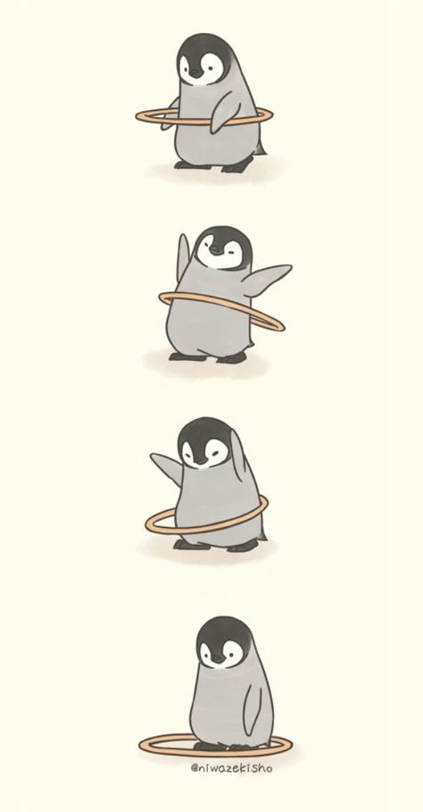 Make Gemes, 10 Cute Illustrations of Little Penguins Perform Daily Tasks Cute Disney Wallpaper, Cute Cartoon Wallpapers, Cute Wallpaper Backgrounds, Wallpaper Iphone Cute, Anime Wallpaper Phone, Mood Wallpaper, Kawaii Wallpaper, Animal Wallpaper, Cartoon Cartoon