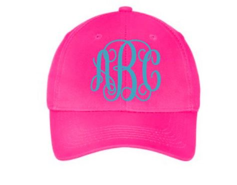 b9e4635e924 Toddler Monogram Hat